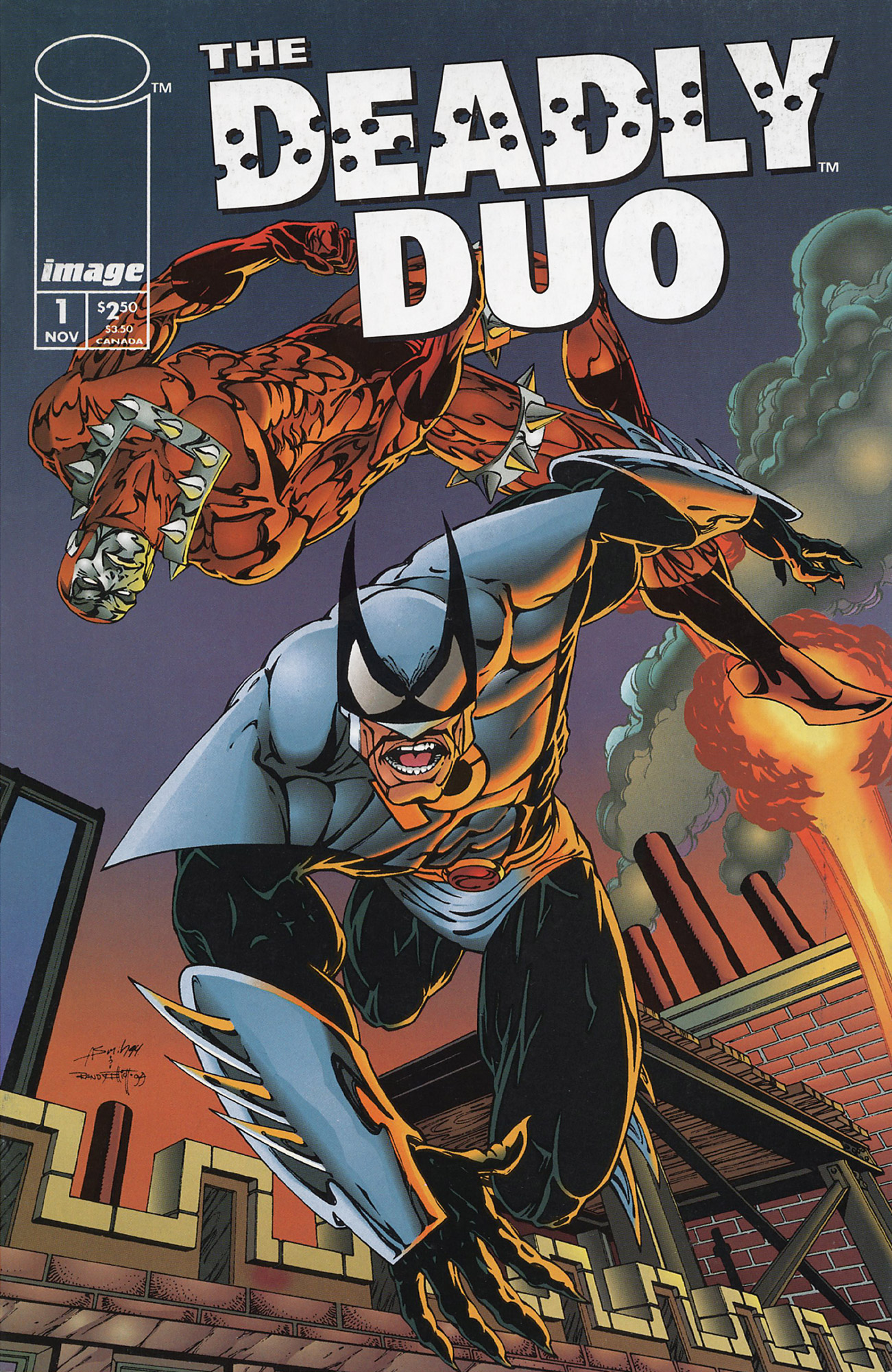 Cover The Deadly Duo1 Vol.1 #1