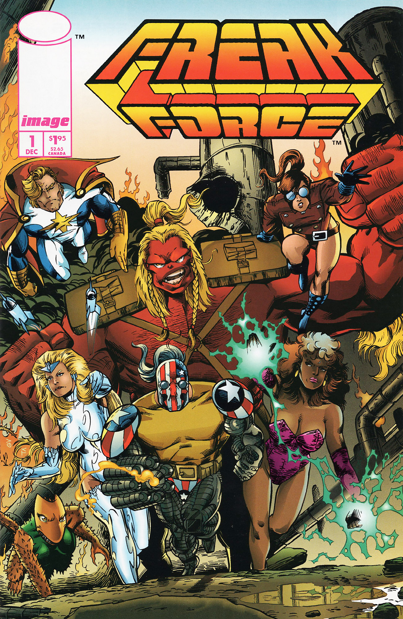 Cover Freak Force Vol.1 #01