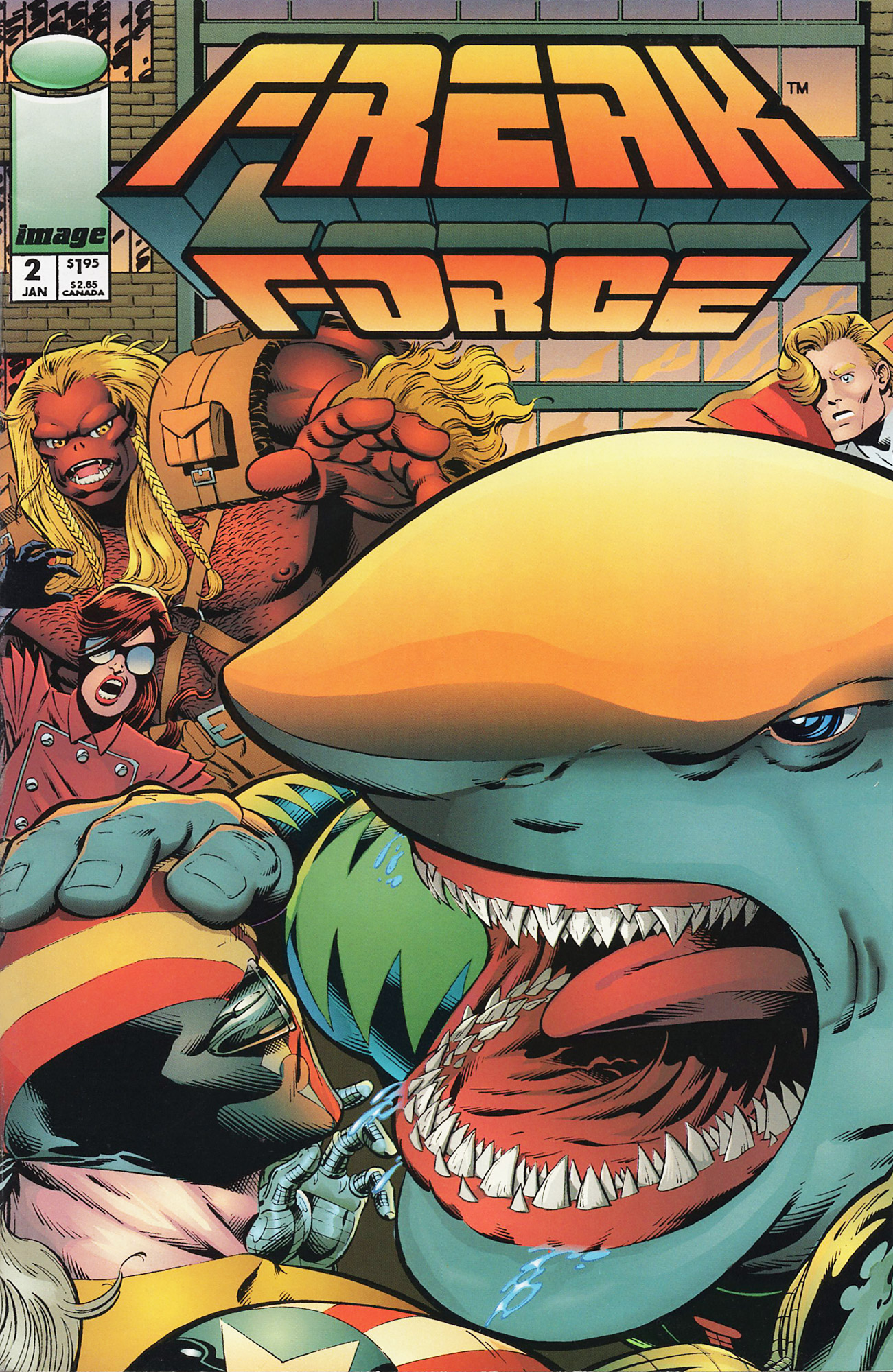 Cover Freak Force Vol.1 #02