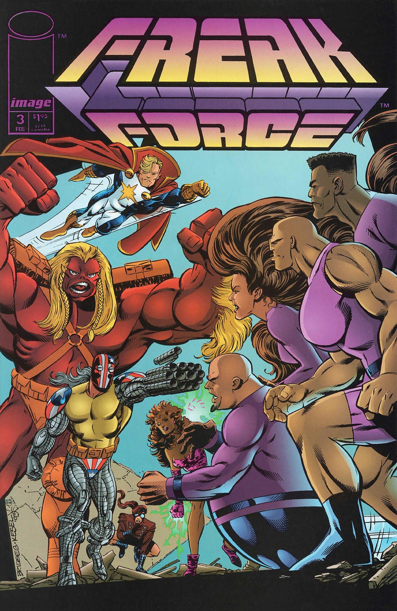 Cover Freak Force Vol.1 #03