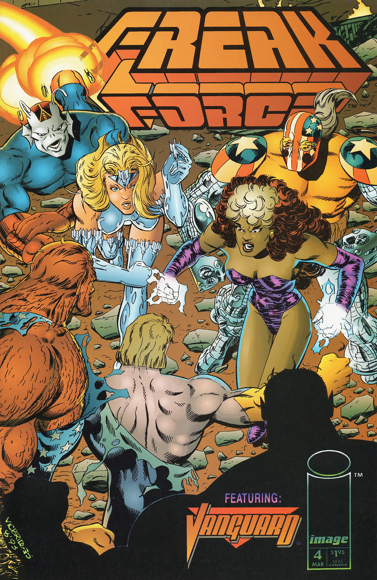 Cover Freak Force Vol.1 #04