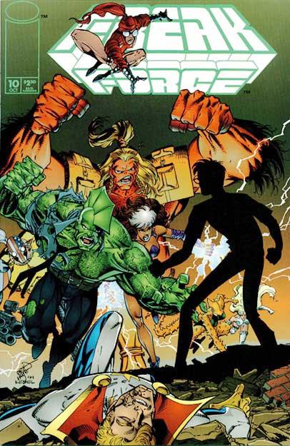 Cover Freak Force Vol.1 #10
