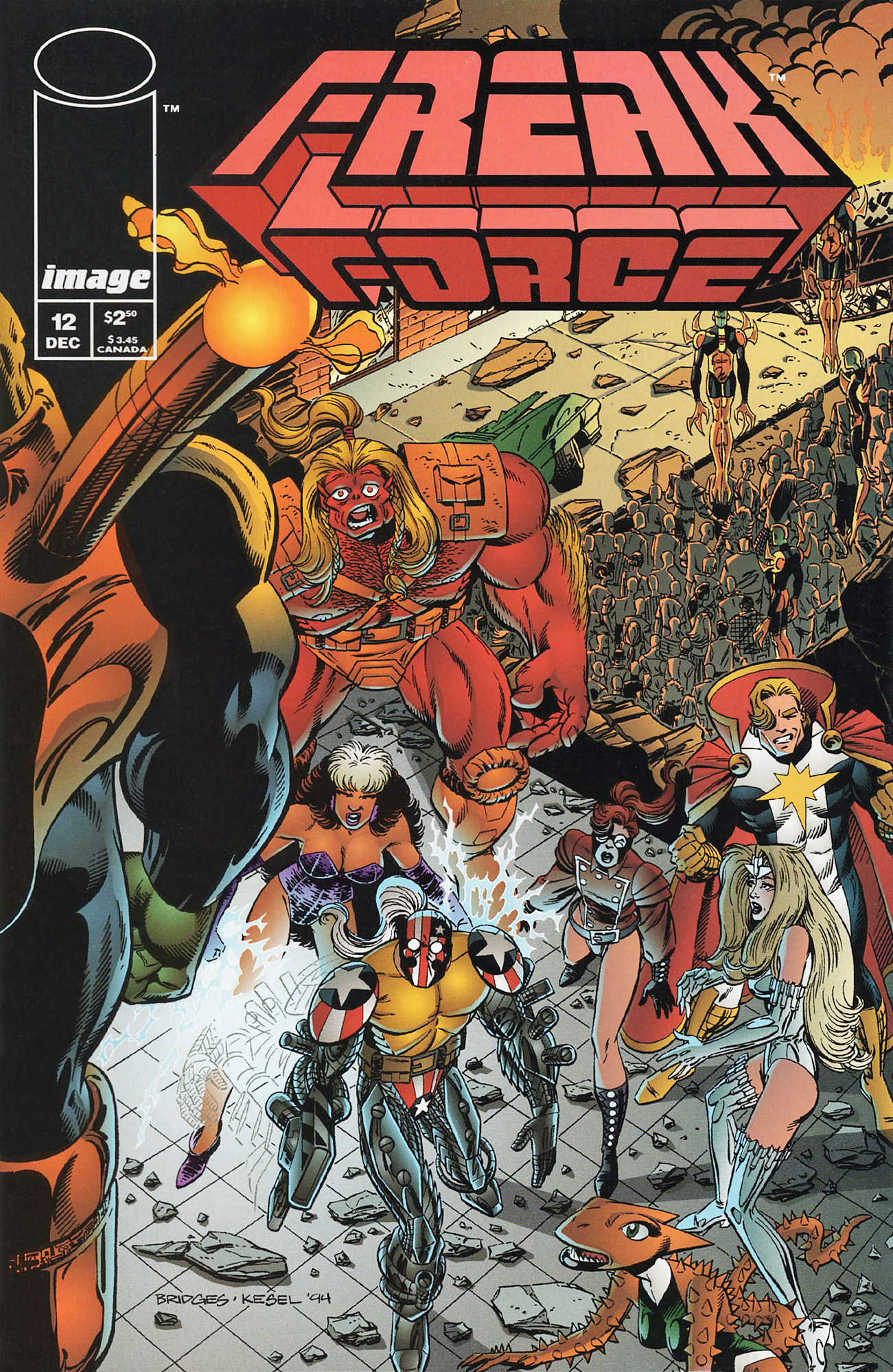 Cover Freak Force Vol.1 #12