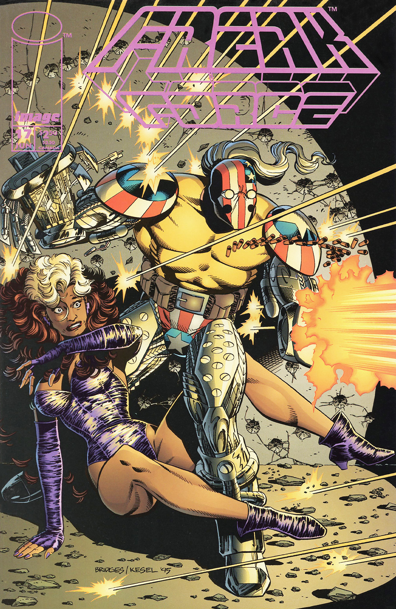Cover Freak Force Vol.1 #17