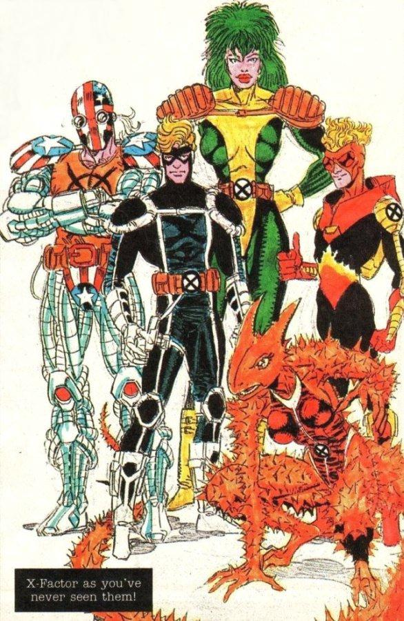 Erik Larsen's Design for X-Factor