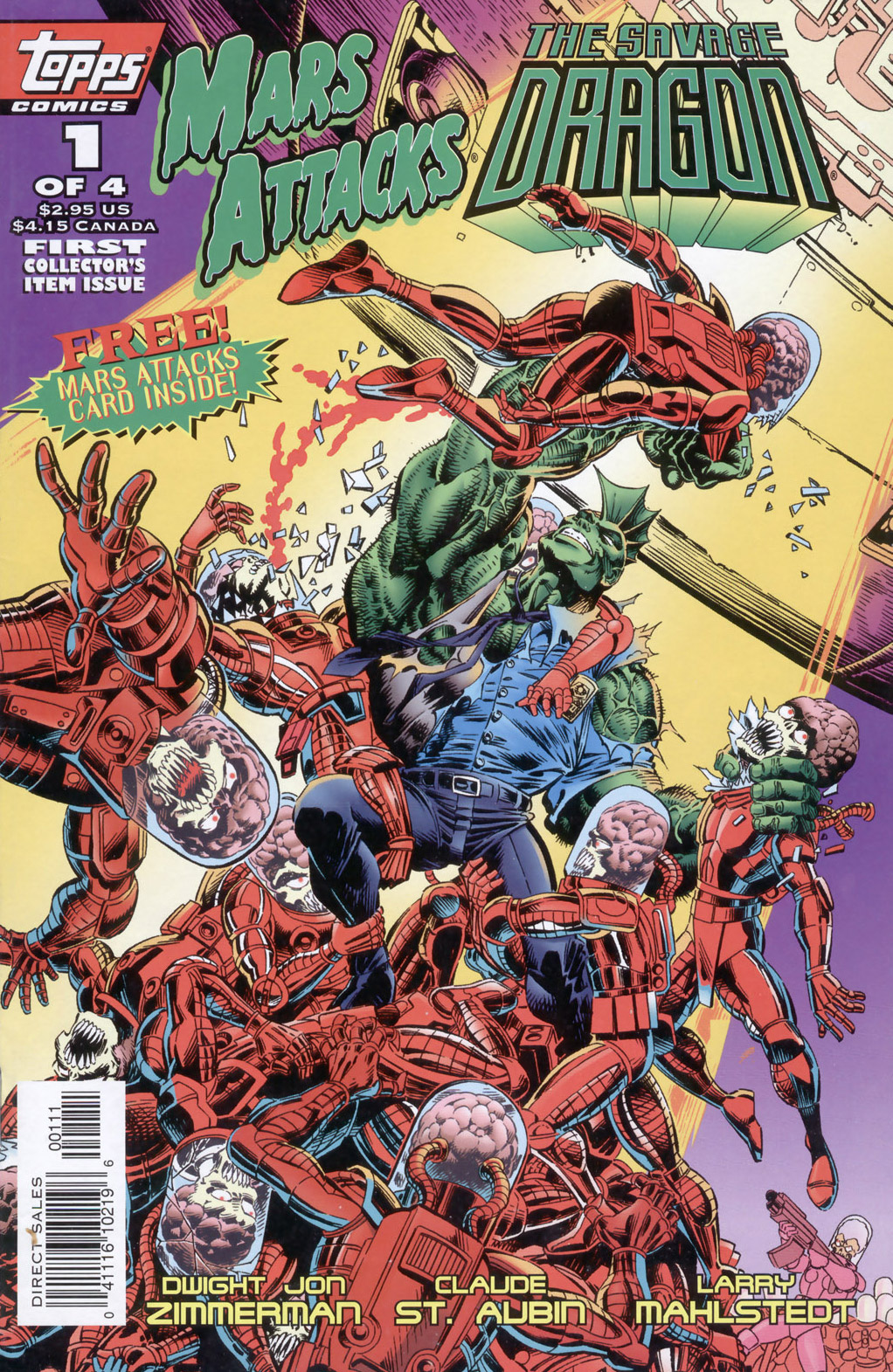 Cover Mars Attacks Savage Dragon #01