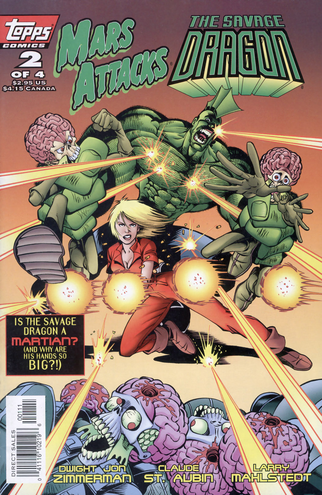 Cover Mars Attacks Savage Dragon #02
