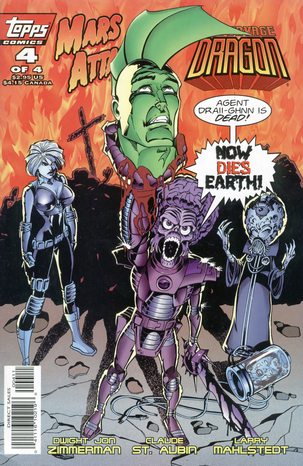 Cover Mars Attacks Savage Dragon #04