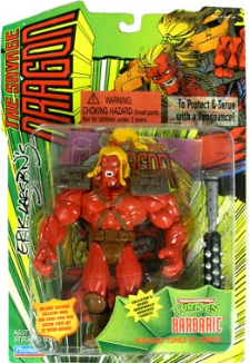 Playmates Toys Barbaric Action Figure