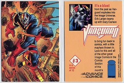 Advance Comics Vanguard Promo Trading Card