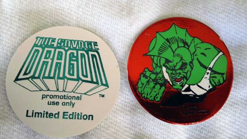 Savage Dragon Pogs