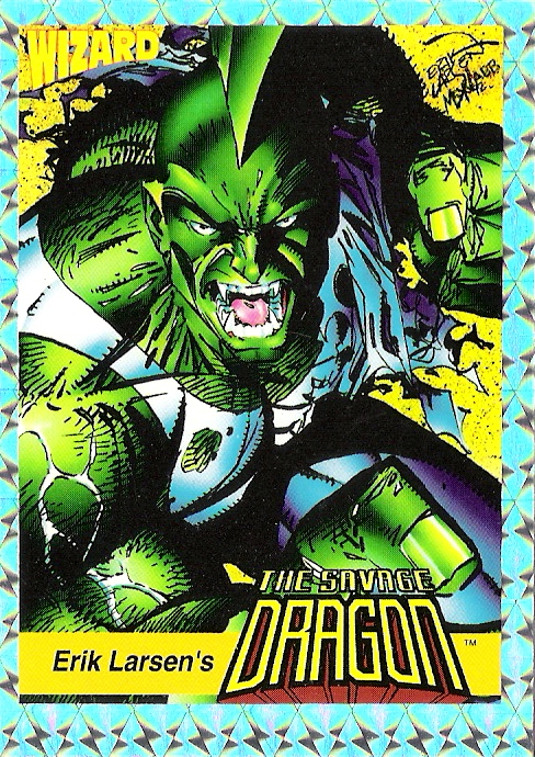 Wizard Magazine #13 Savage Dragon Promo Card