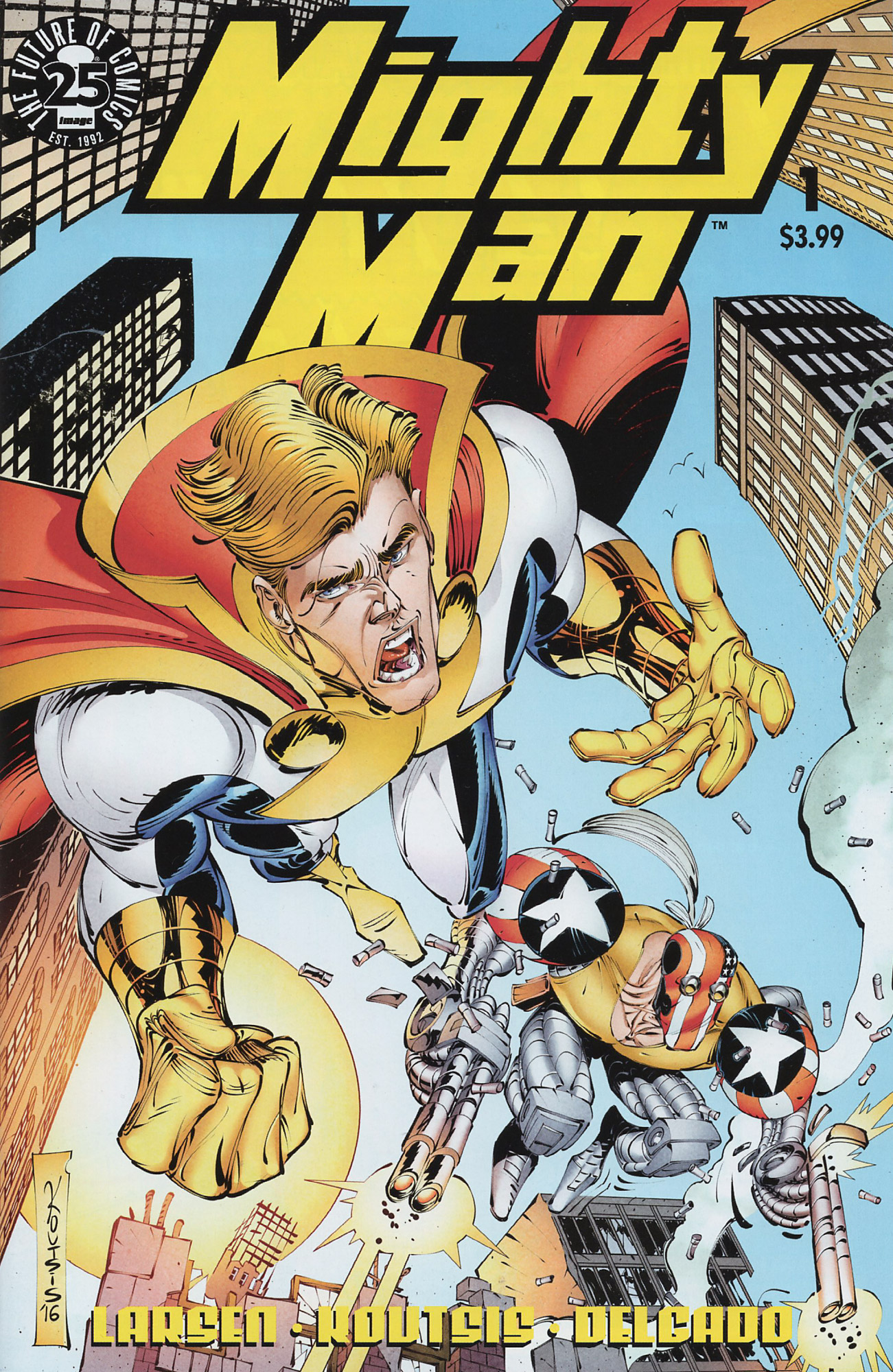 Cover Mighty Man Vol.2 #01