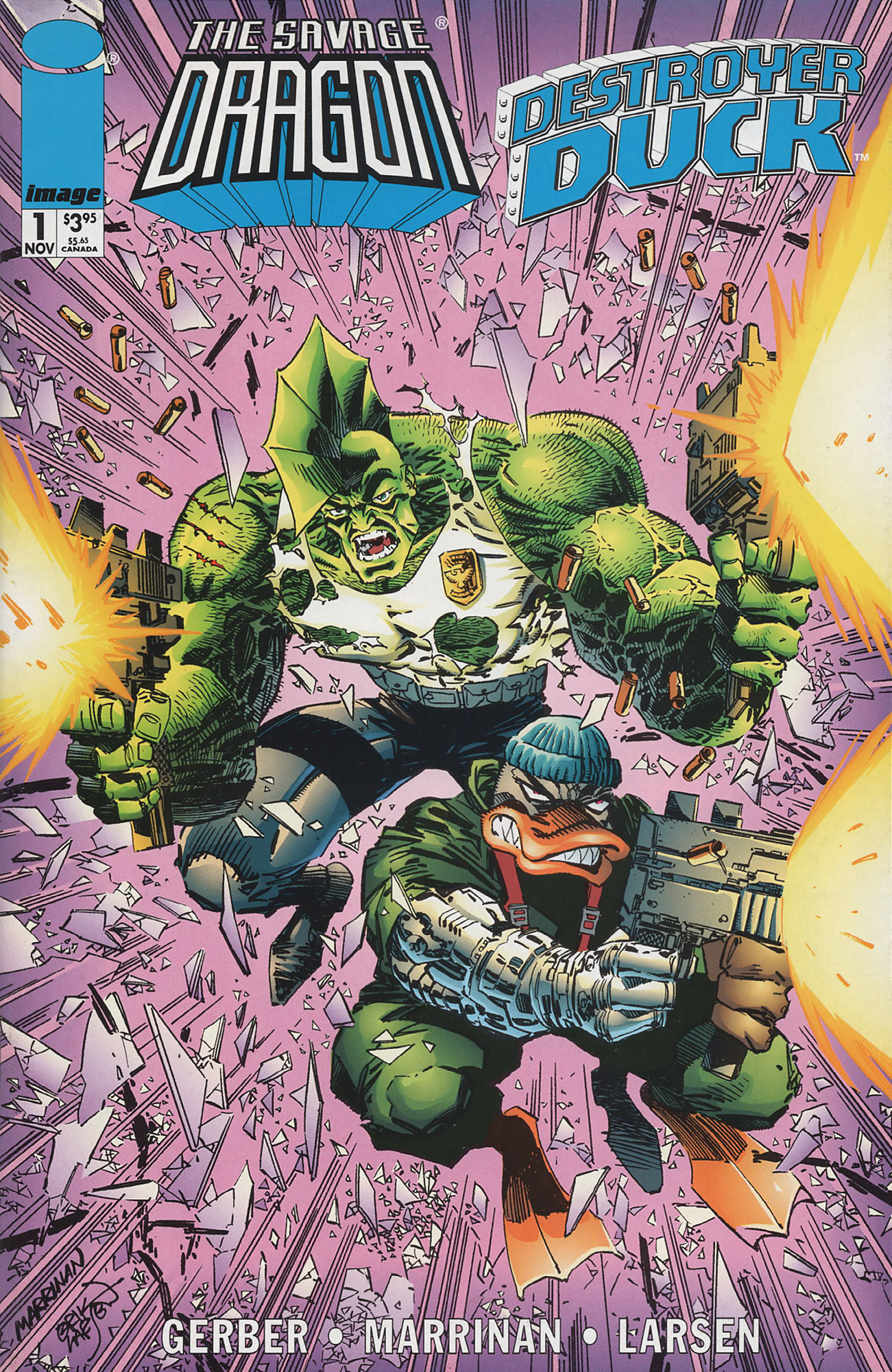 Cover Savage Dragon Destroyer Duck #01