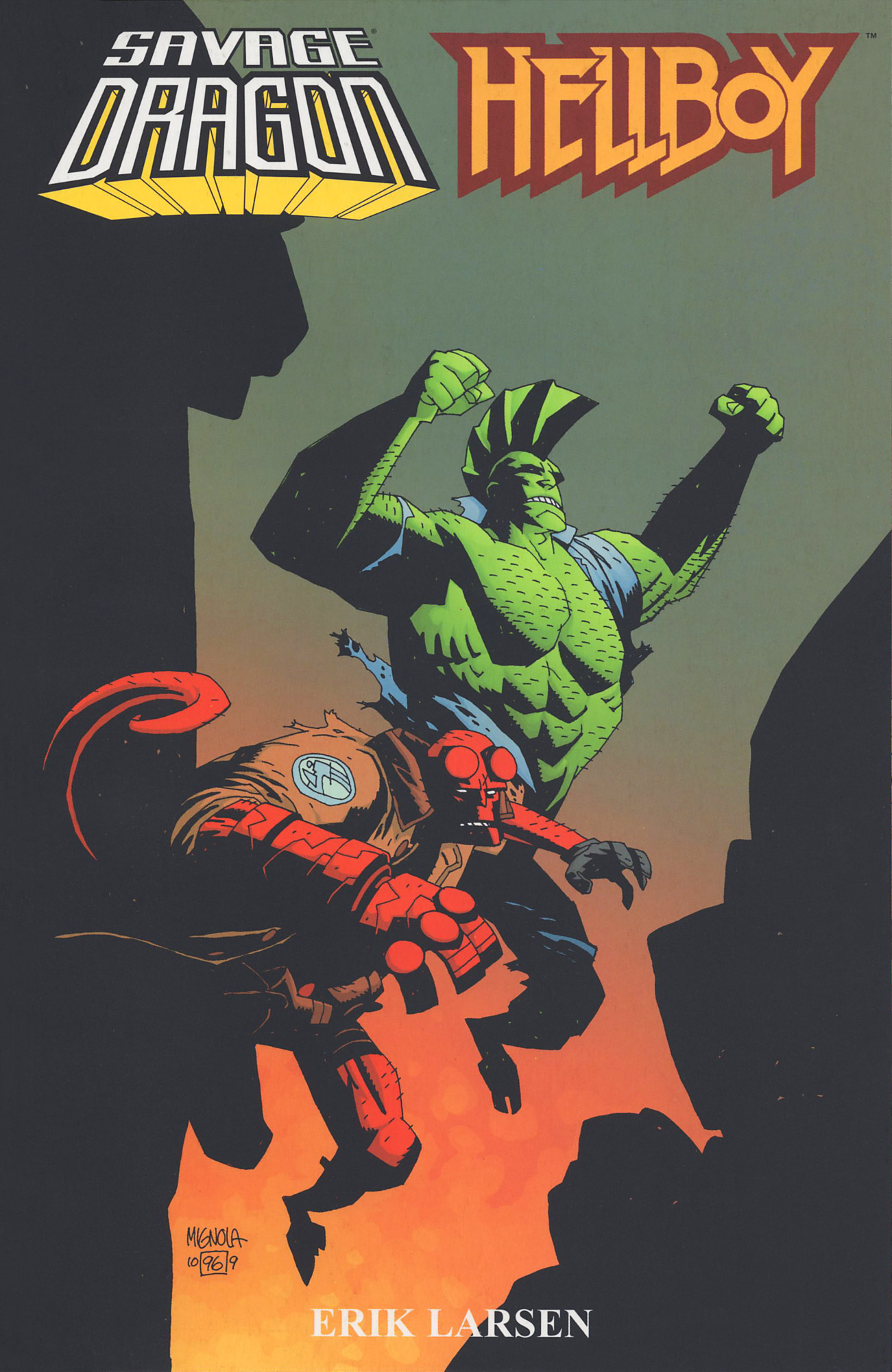 Cover Savage Dragon Hellboy TPB