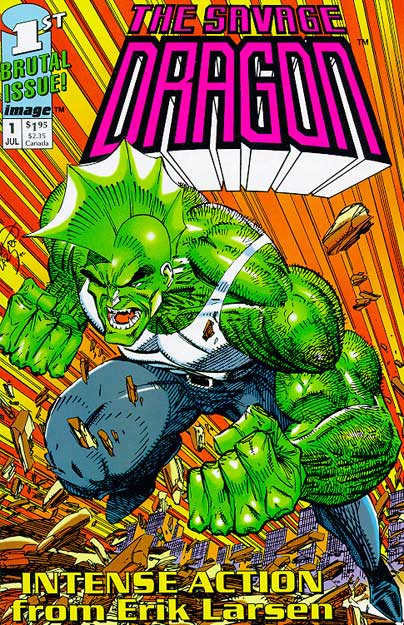 Cover Savage Dragon Vol.1 #01