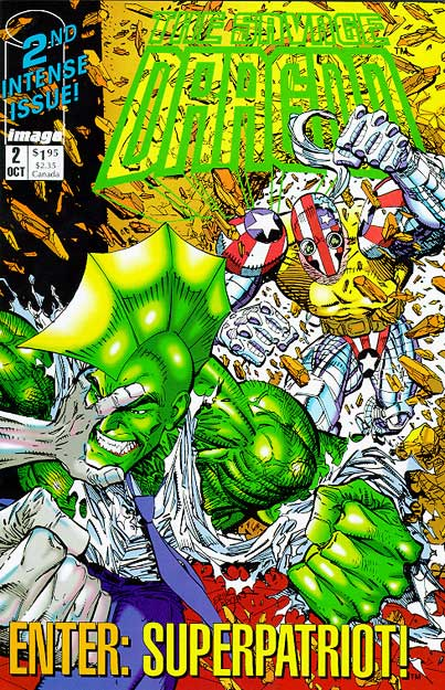 Cover Savage Dragon Vol.1 #02