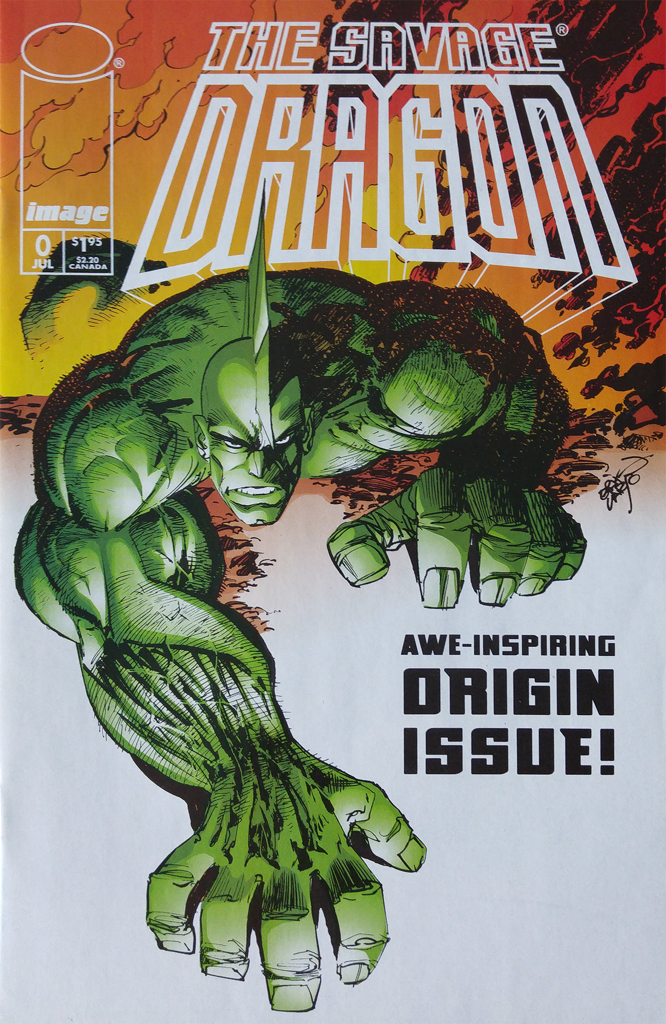 Cover Savage Dragon Vol.2 #0