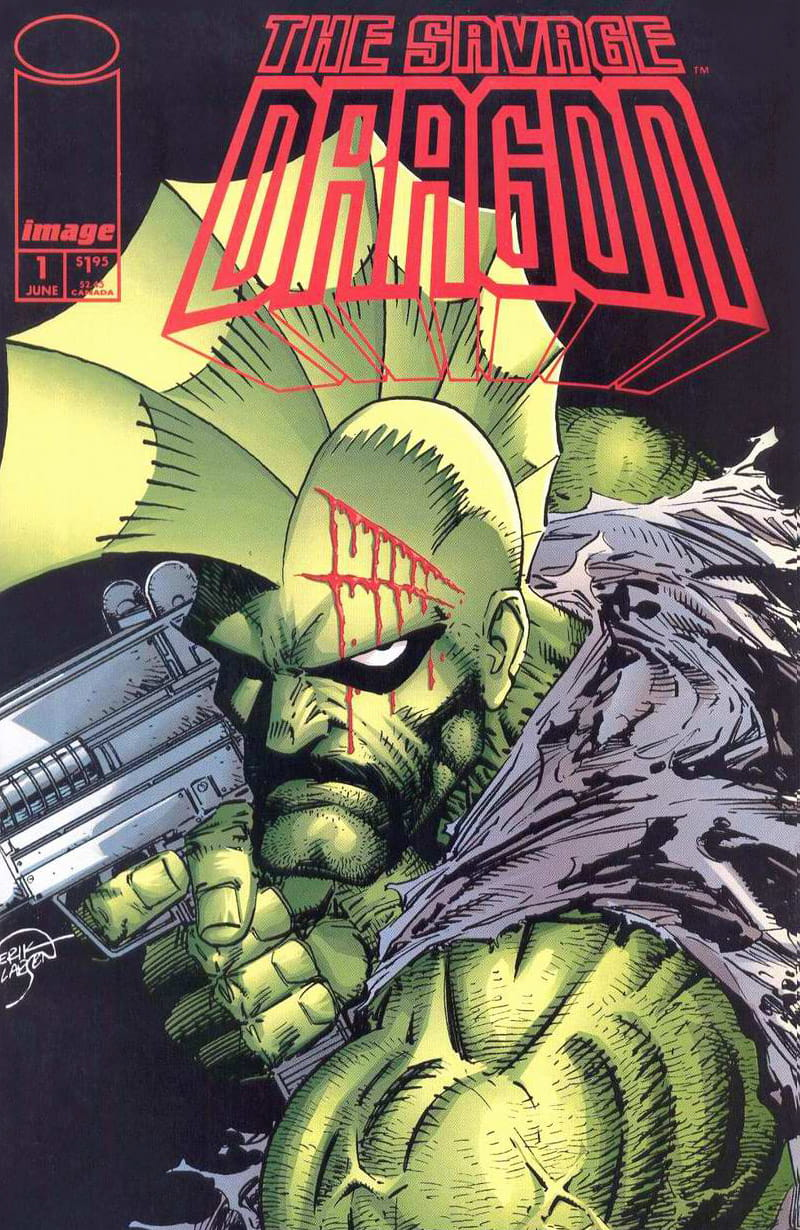 Cover Savage Dragon Vol.2 #1