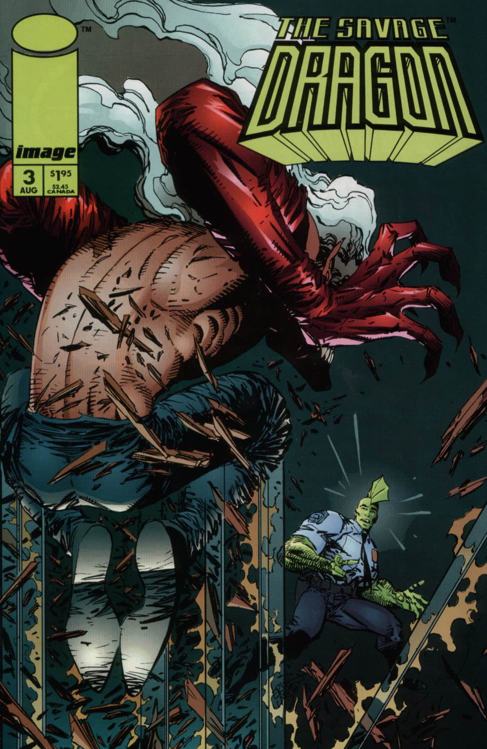 Cover Savage Dragon Vol.2 #3