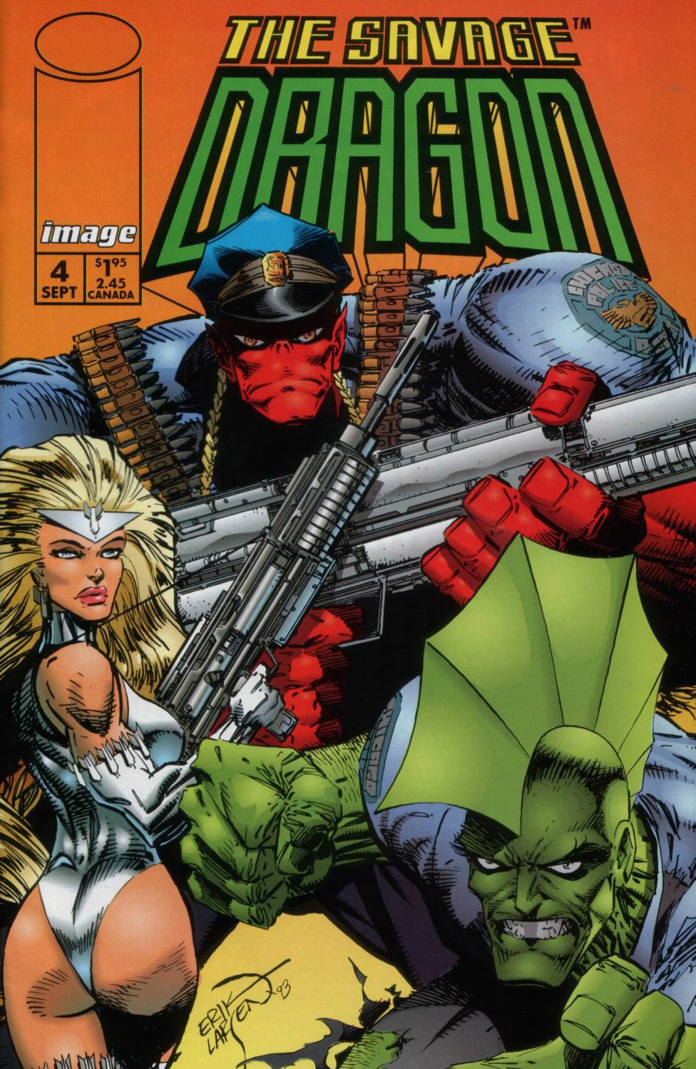 Cover Savage Dragon Vol.2 #4
