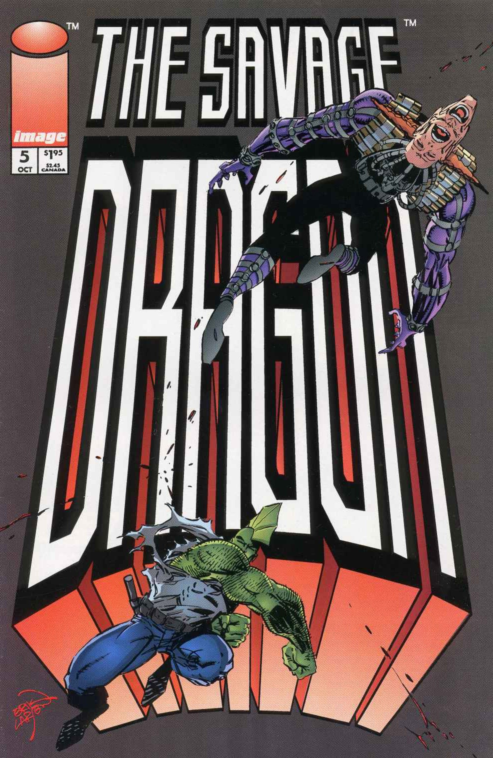 Cover Savage Dragon Vol.2 #5
