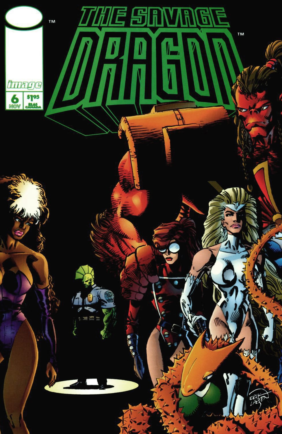 Cover Savage Dragon Vol.2 #6