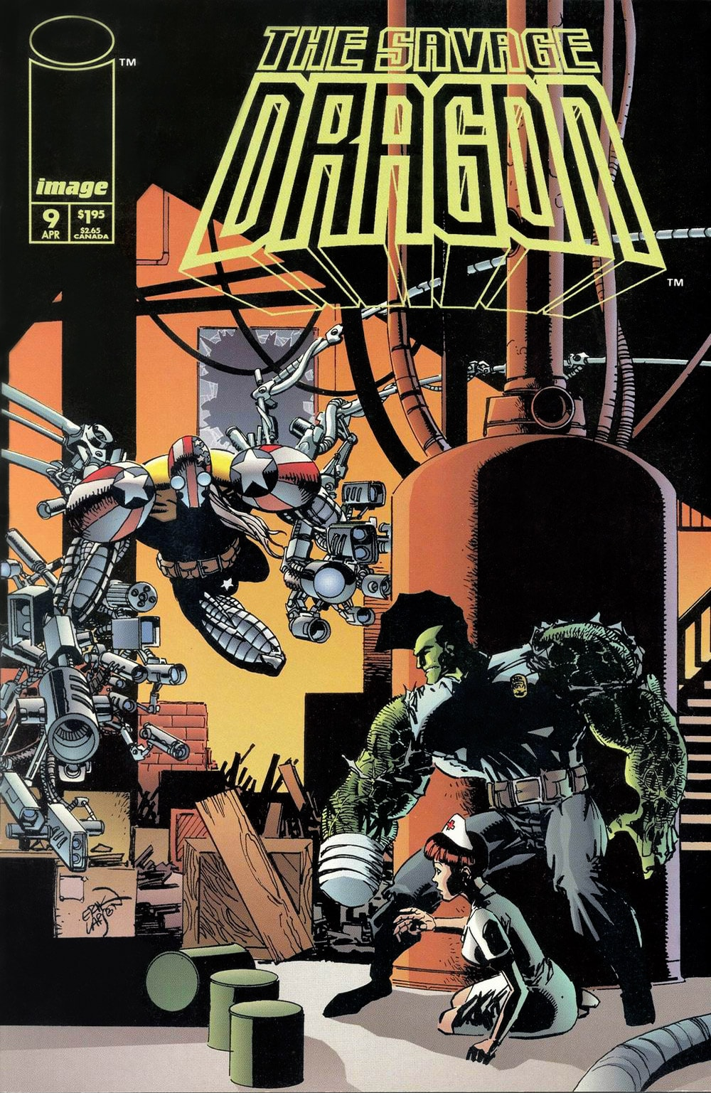 Cover Savage Dragon Vol.2 #9