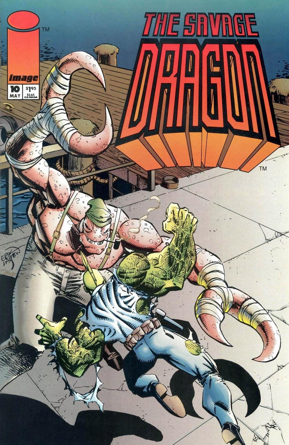 Cover Savage Dragon Vol.2 #10