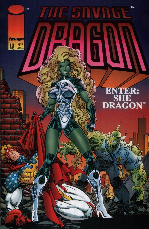 Cover Savage Dragon Vol.2 #12