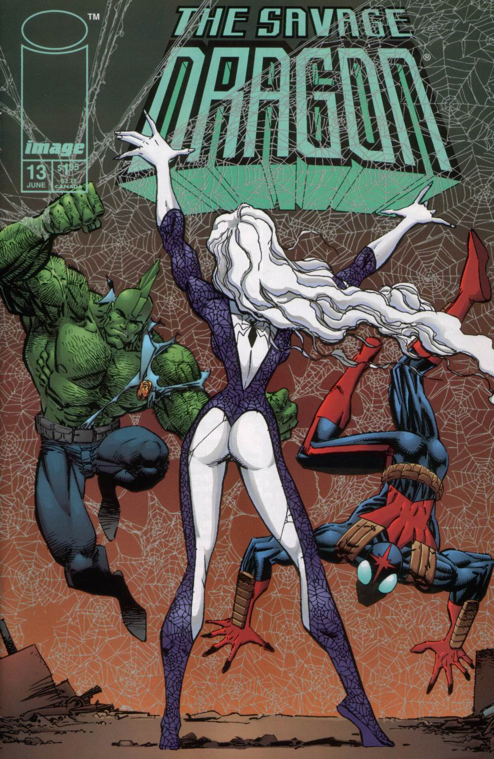 Cover Savage Dragon Vol.2 #13