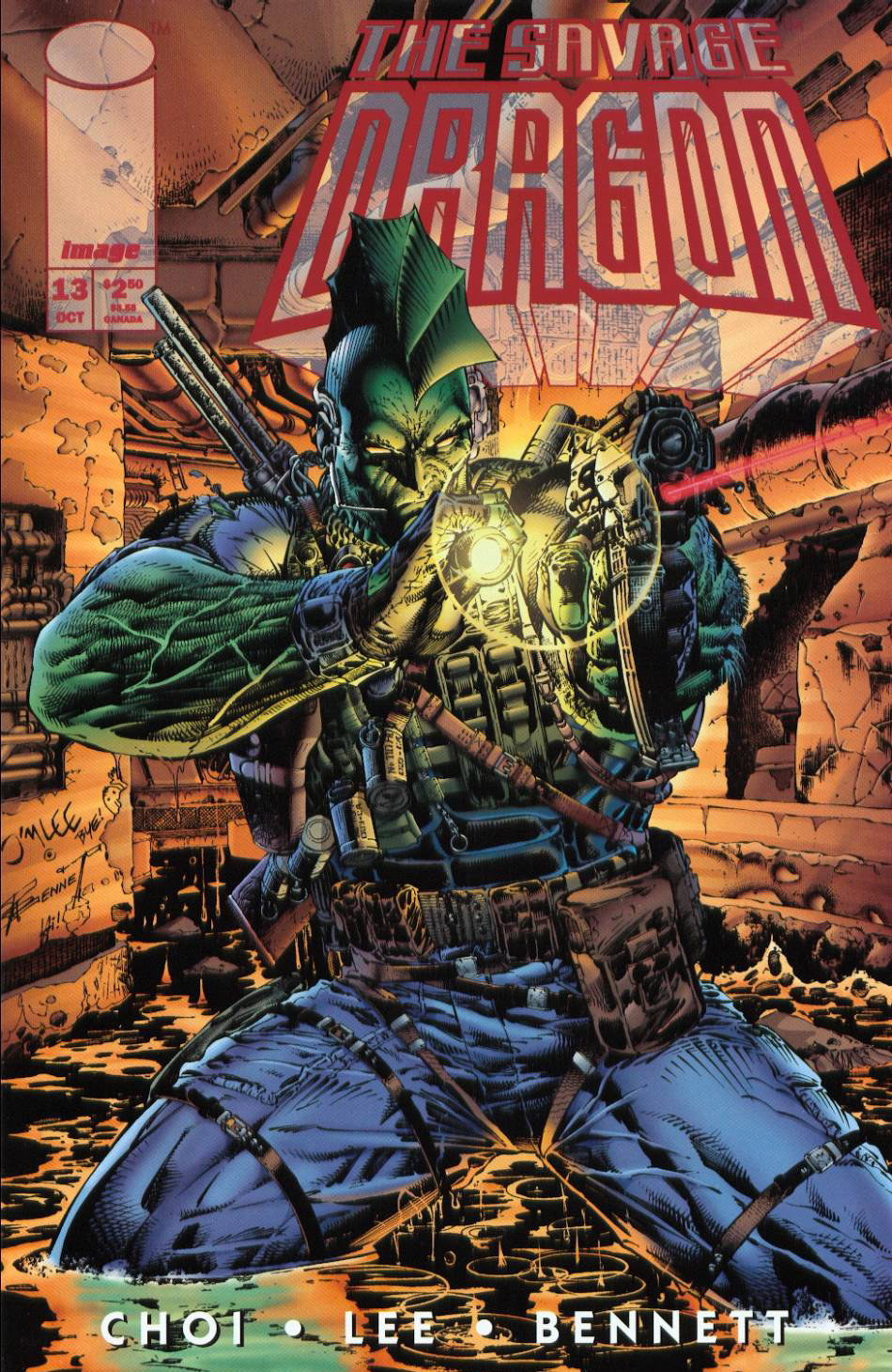 Cover Savage Dragon Vol.2 #13 Image X-Month