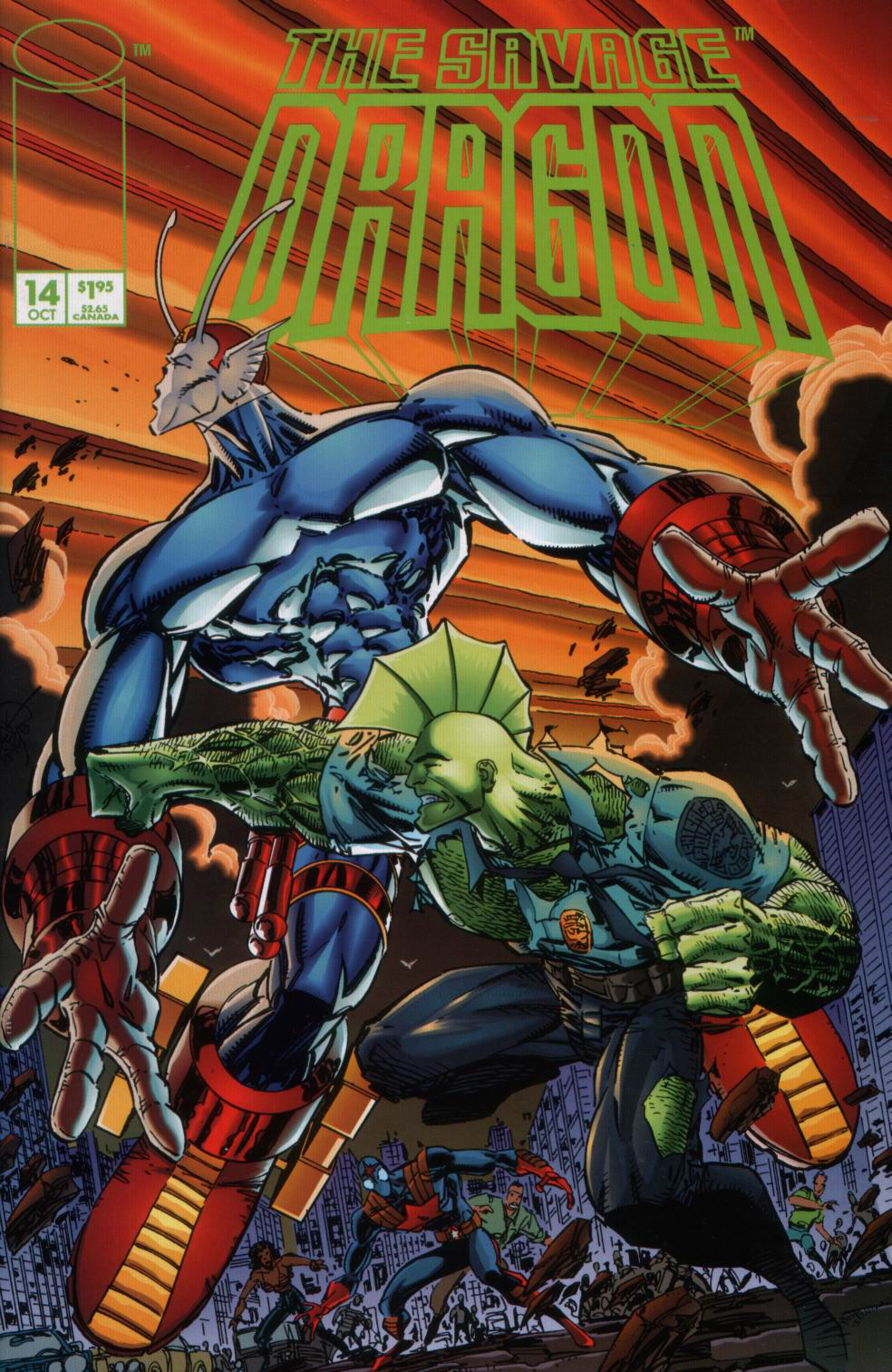 Cover Savage Dragon Vol.2 #14