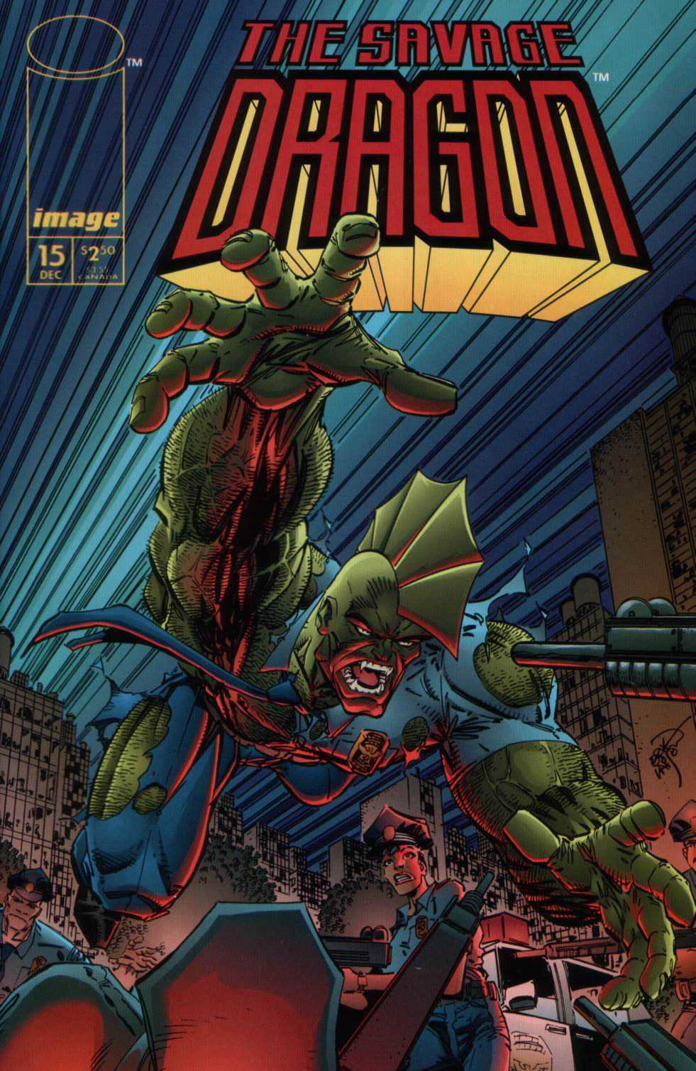 Cover Savage Dragon Vol.2 #15