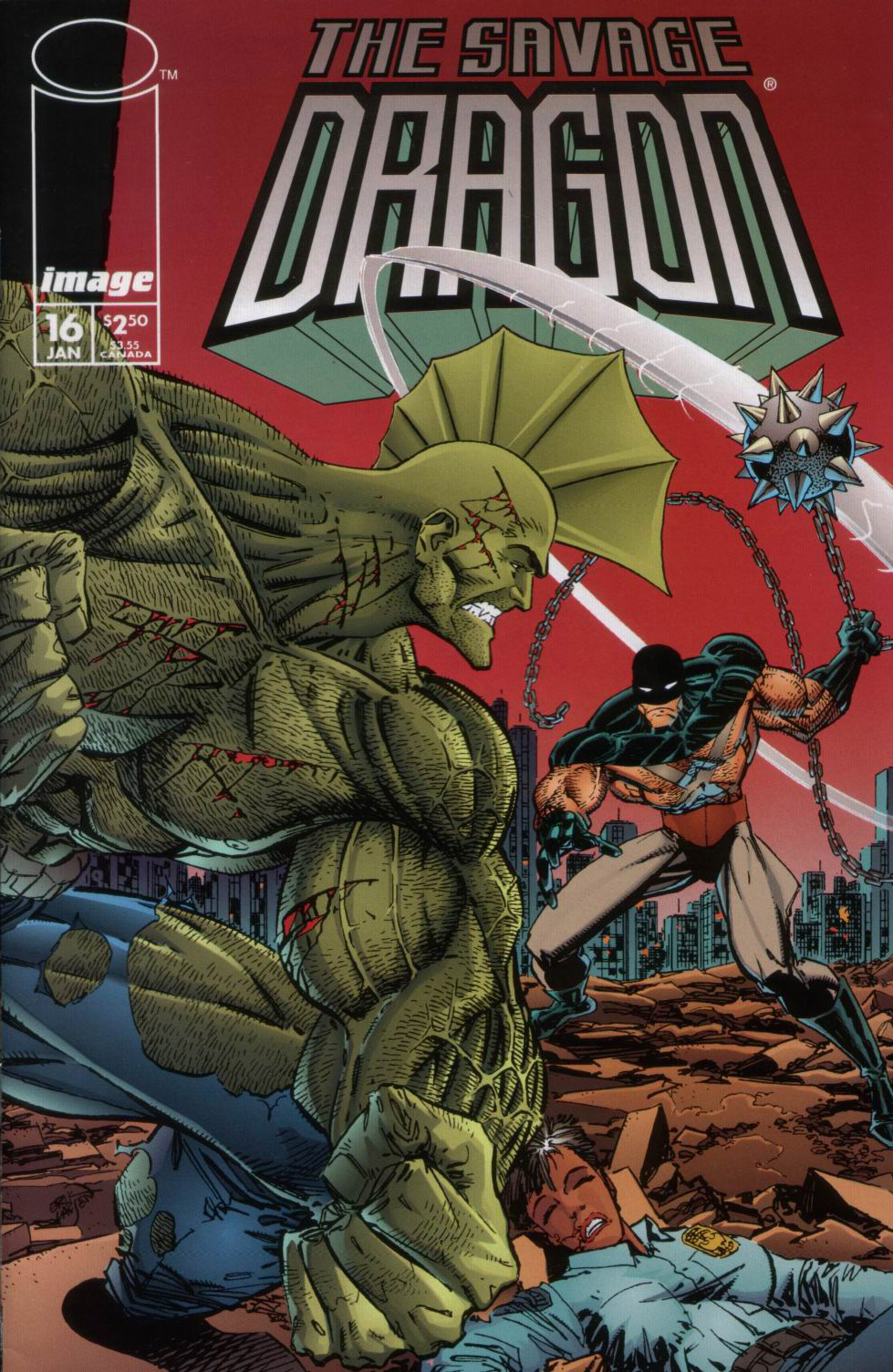 Cover Savage Dragon Vol.2 #16