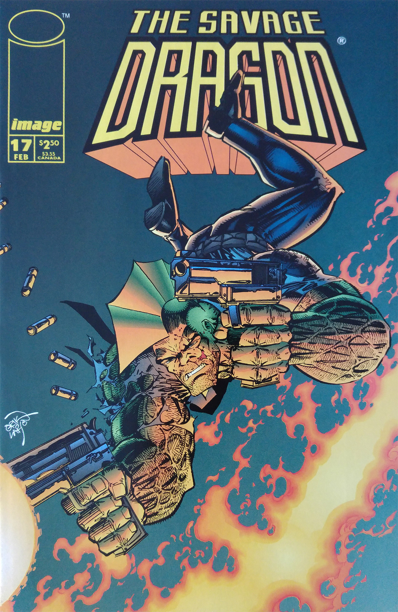 Cover Savage Dragon Vol.2 #17