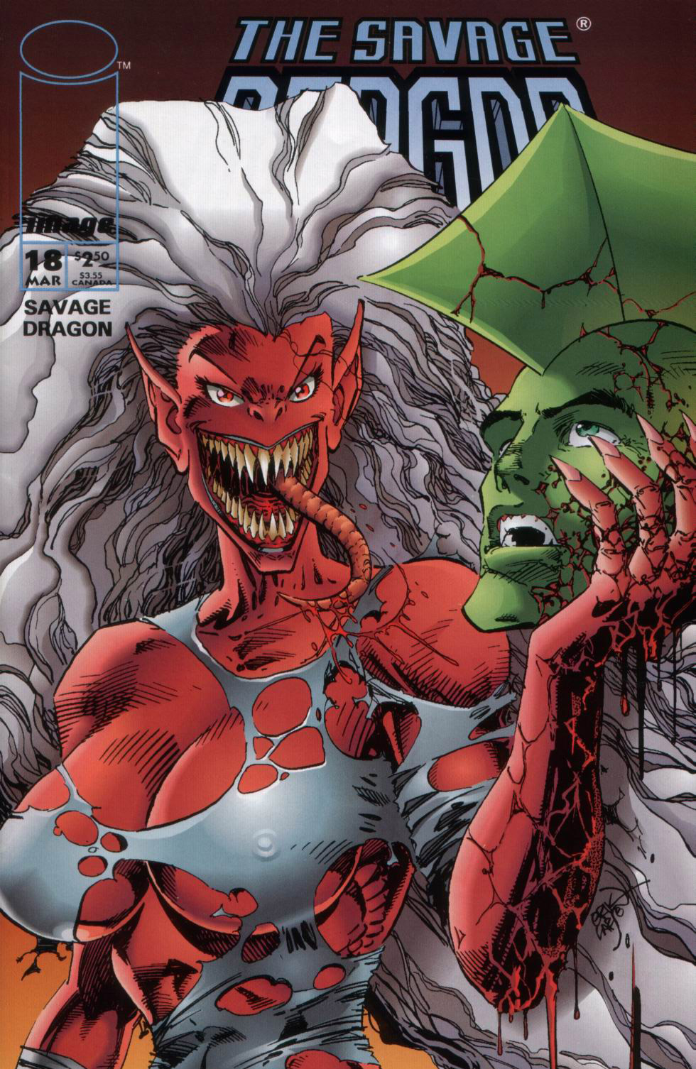 Cover Savage Dragon Vol.2 #18
