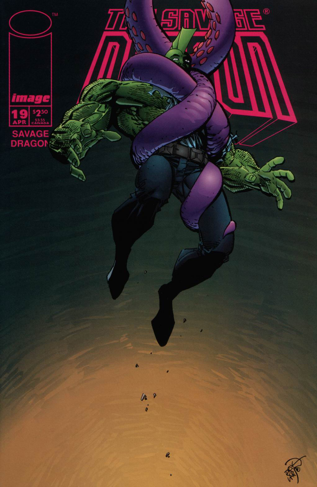 Cover Savage Dragon Vol.2 #19
