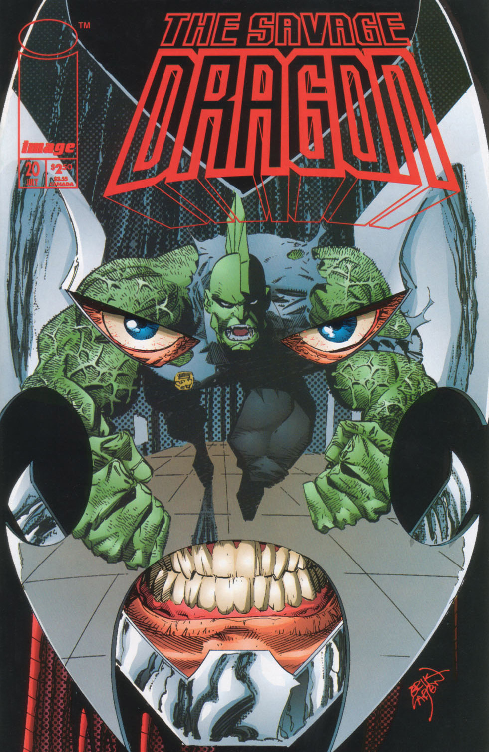 Cover Savage Dragon Vol.2 #20