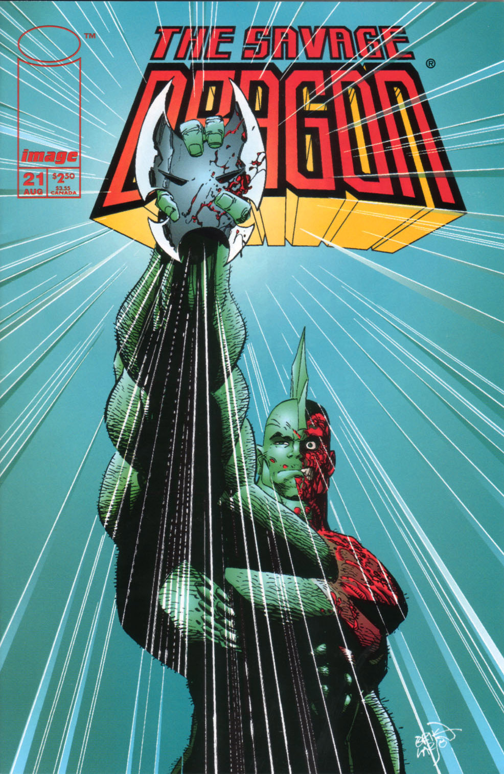 Cover Savage Dragon Vol.2 #21