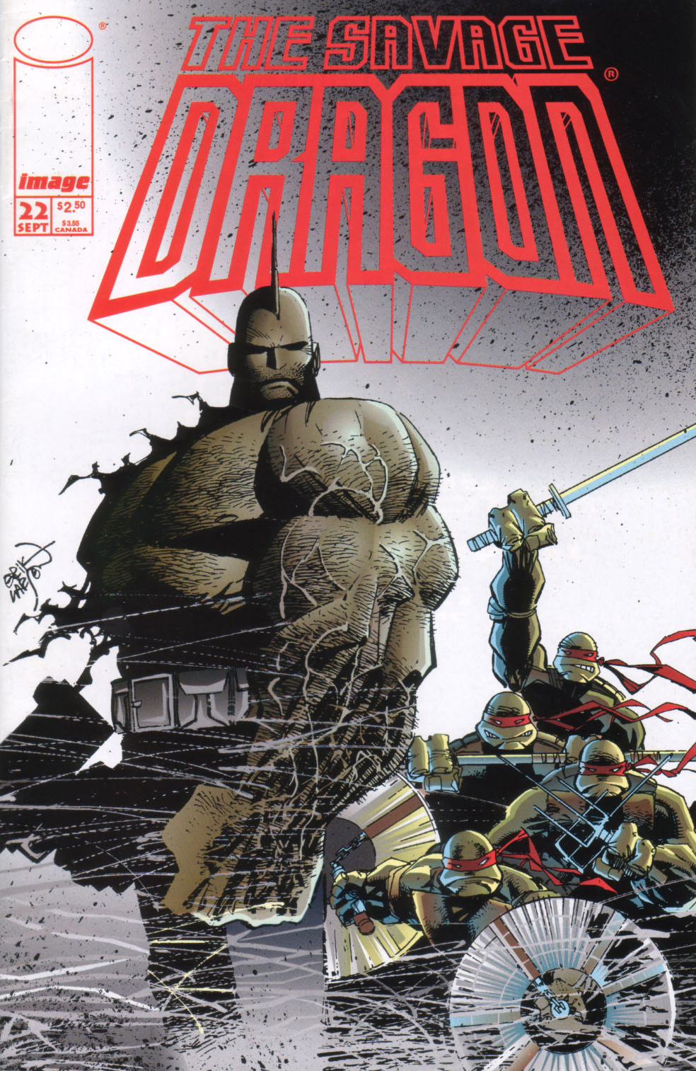 Cover Savage Dragon Vol.2 #22