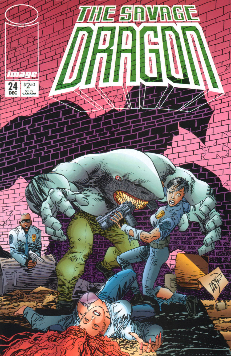 Cover Savage Dragon Vol.2 #24