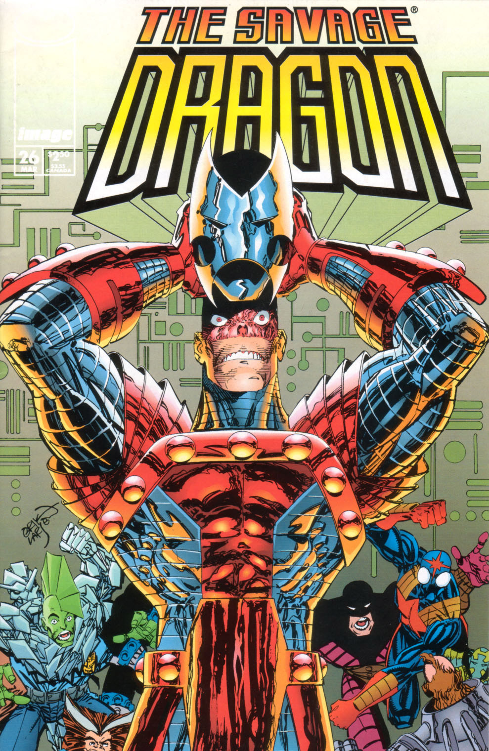 Cover Savage Dragon Vol.2 #26