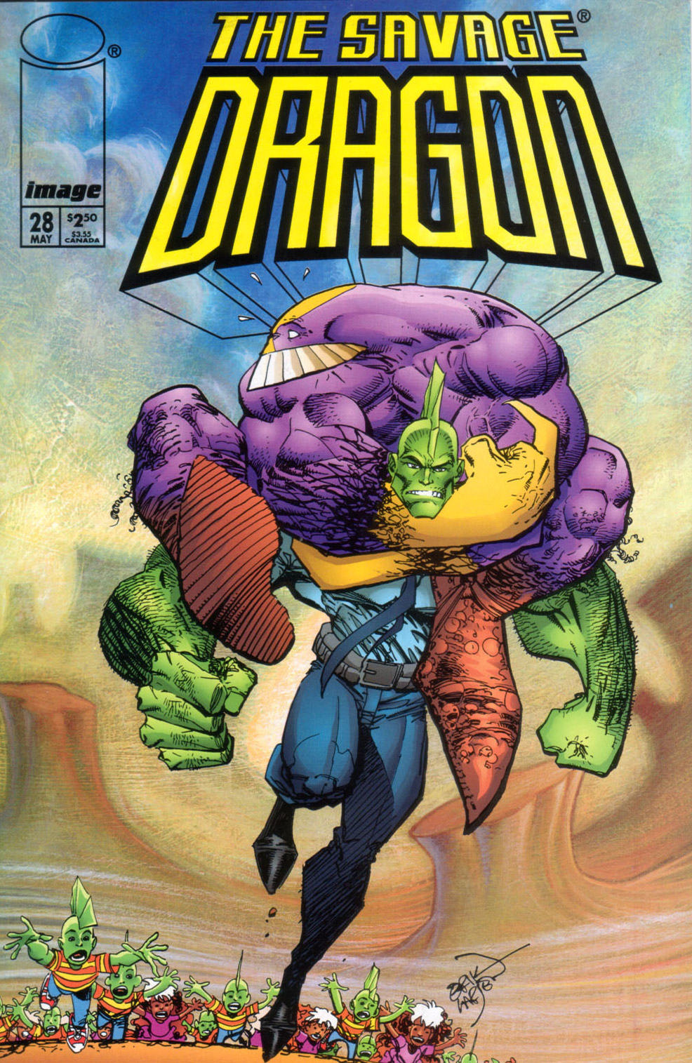 Cover Savage Dragon Vol.2 #28