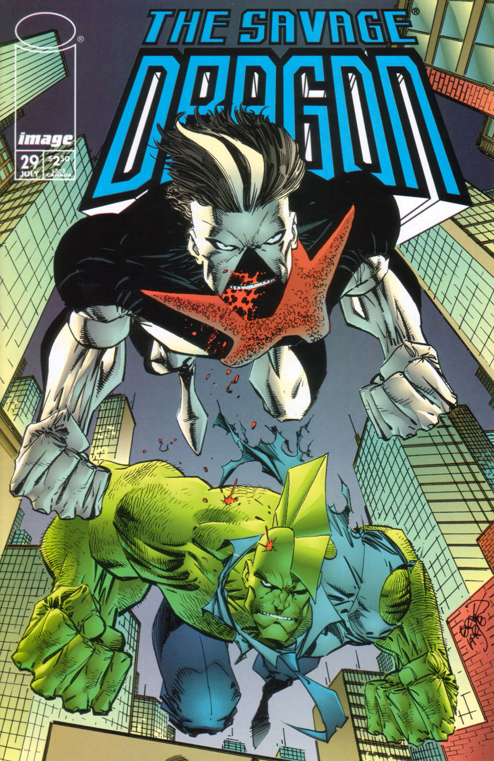 Cover Savage Dragon Vol.2 #29