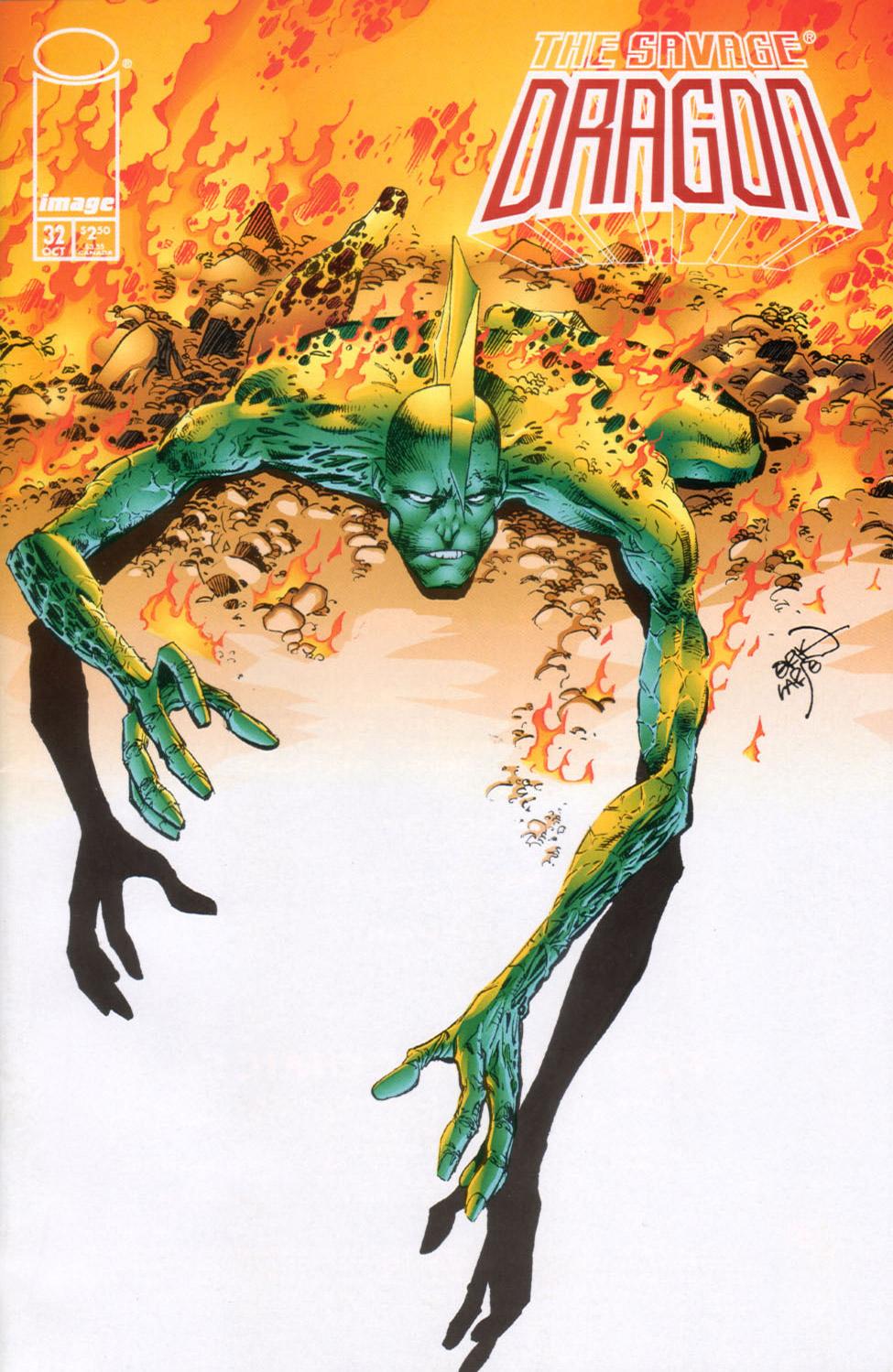Cover Savage Dragon Vol.2 #32