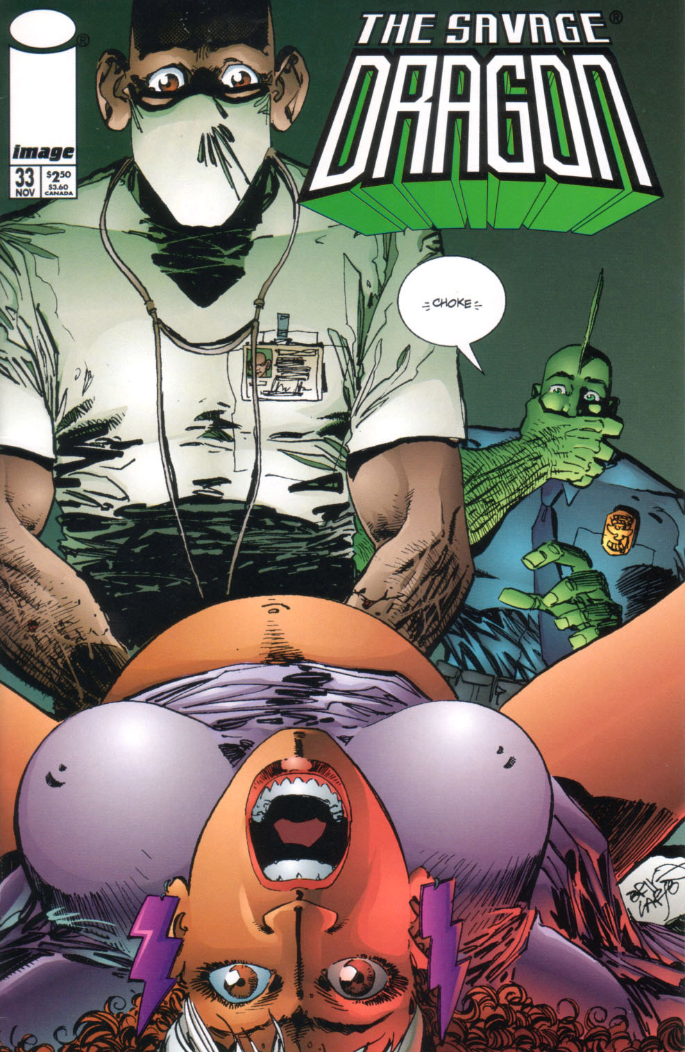 Cover Savage Dragon Vol.2 #33