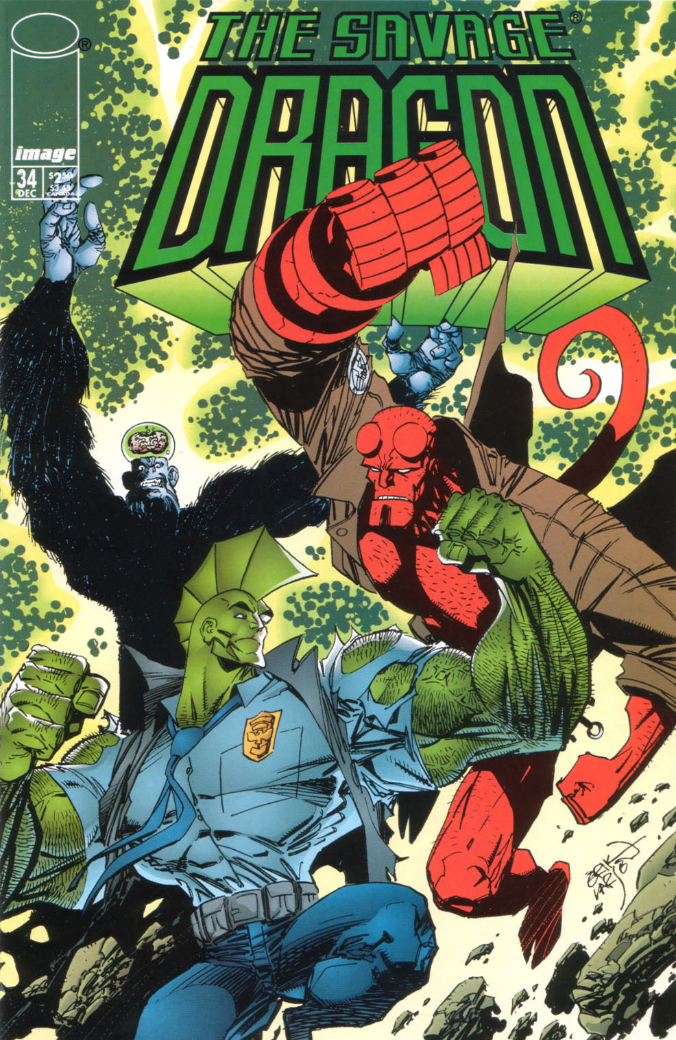Cover Savage Dragon Vol.2 #34