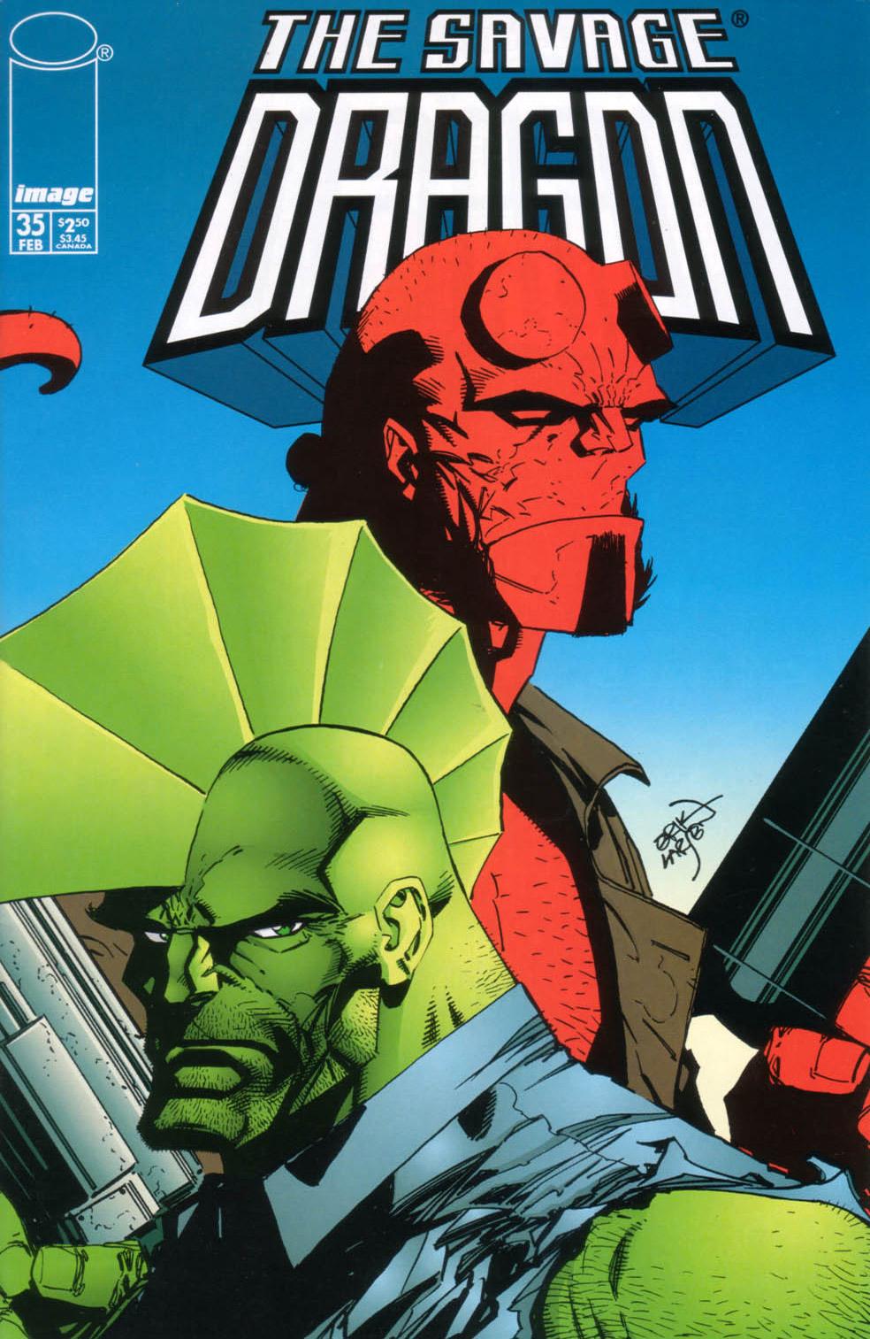 Cover Savage Dragon Vol.2 #35