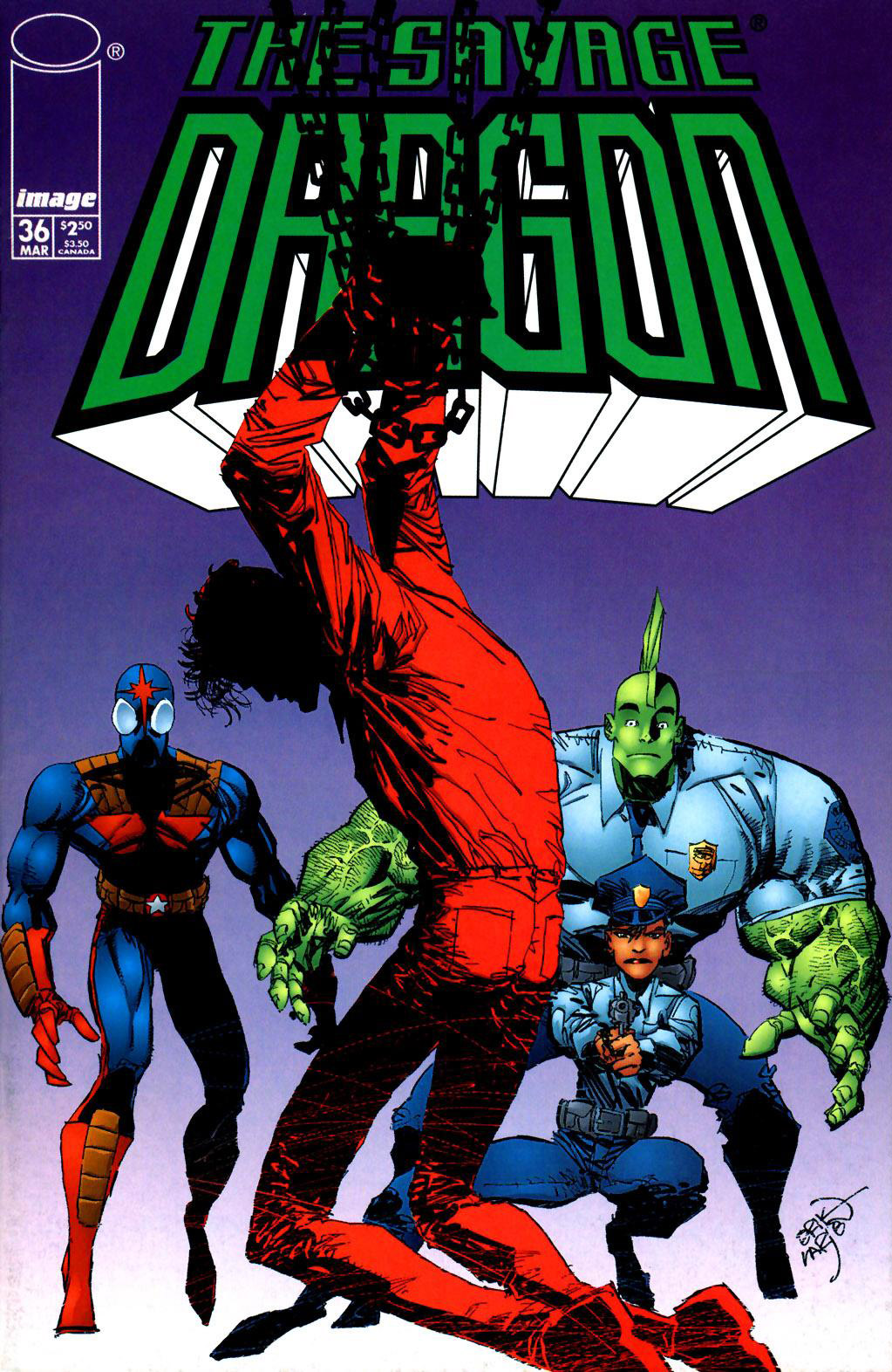 Cover Savage Dragon Vol.2 #36